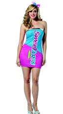 Nestle's Sweetarts Tank Dress Costume