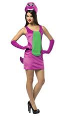 Sexy Barney Costume