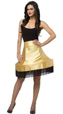 Christmas Story Leg Lamp Costume Skirt