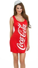 Coca-Cola Tank Dress Costume