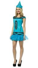 Crayola Glitz and Glitter Steel Blue Costume