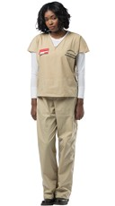 Orange is the New Black Beige Prison Costume