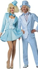 Officially Licensed Harry Tuxedo Couples Costume