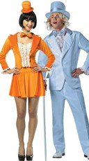 Officially Licensed Harry And Lloyd Tuxedo Couples Costume