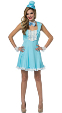 Blue Dumb And Dumber Dress Costume