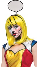 Pop Art Girl Wig