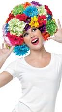 Foam Wig Flower Afro