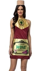 Fine Wine Dress Costume