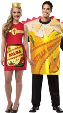 Chips and Salsa Couples Costume