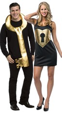 Unlock My Heart Couples Costume