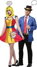 Pop Art Couples Costume