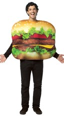 Mens Cheeseburger Costume