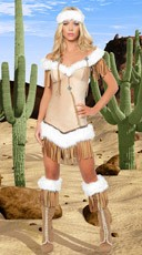 Deluxe Indian Snow Princess Costume