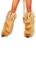 Courageous Lioness Leg Warmers