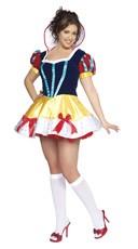 Plus Size Sexy Snow White Costume