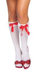 Ribbon Detailed Stockings