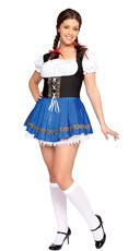 Plus Size Beer Wench Costume