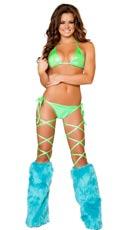 Sexy Shiny Bikini Set
