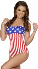 USA Pin Up Bodysuit