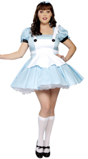 Plus Size Miss Alice Costume
