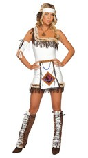 Sexy Indian Chief Costume