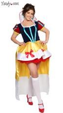 Plus Size Sassy Snow White Costume
