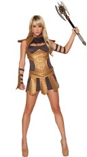Sexy Warrior Costume