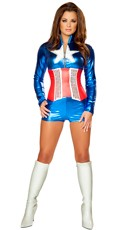 Sexy All American Costume