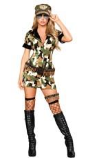 Militia Babe Costume
