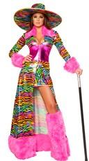 Deluxe Rainbow Pimp Costume