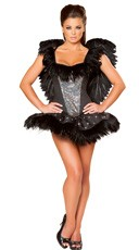 Deluxe Sexy Swan Costume