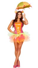 Colorful Clown Cutie Costume