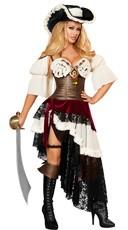 Deluxe Sexy Pirateer Costume