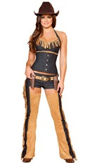 Deluxe Wild West Wench Costume