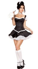 Deluxe Mistress Maid Costume