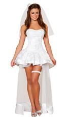 Deluxe Beautiful Bride Costume
