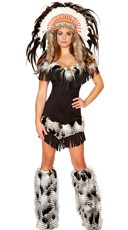 Deluxe Native American Princess Costume