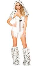 White Native American Costume