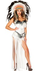 Deluxe Native American Beauty Costume