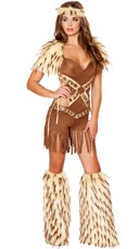 Deluxe Native Warrior Costume