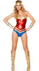 Deluxe Super Hottie Costume