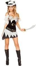Sexy Shipwrecked Pirate Costume