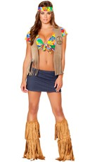 Sexy Flower Child Costume