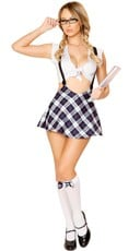 Playful Prep School Girl Costume