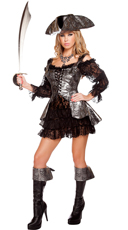 Deadly Pirate Wench Costume