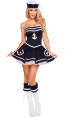Naughty Navy Yard Vixen Costume
