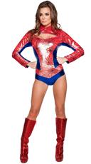 Sexy Spider Vigilante Costume