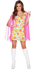 Wild Woodstock Babe Costume
