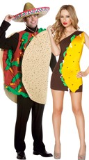 Sexy Taco Couples Costume