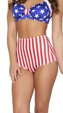 USA High Waisted Shorts